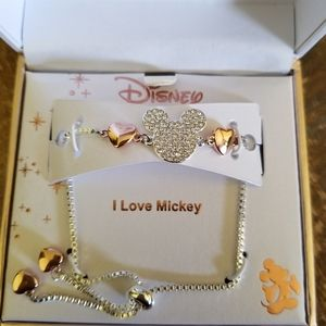 NIB- Disney Mickey Mouse Bolo Bracelet
